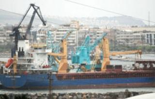 Gemi İskenderun'da