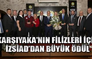 İZSİAD'dan Karşıyaka'ya Eğitim Ödülü