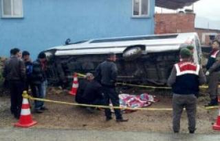 Minibüsün Çarptığı Yaya Öldü