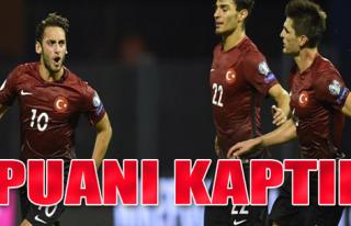 Hırvatistan 1-1 Türkiye