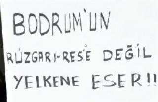 Bodrum'da RES'e Tepkiler Sürüyor