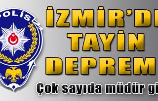 İzmir'de Tayin Depremi