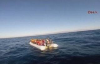 Ege Denizi'nde Kaçak Operasyonu
