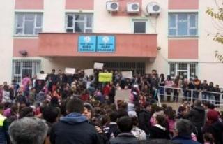 Öğrenciler Derse Girmedi