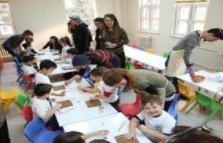 Engelli Çocuklarla Seramik Etkinliği