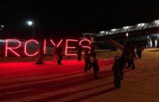 Erciyes'te Gece Kayağı