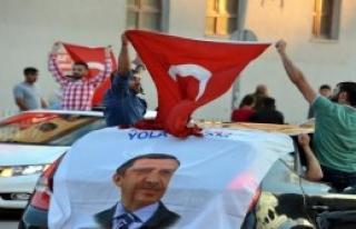 Erzurum'da Demokrasi Nöbeti