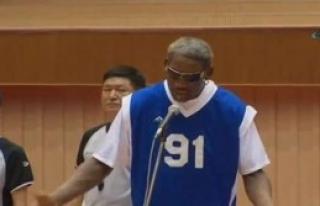 NBA Yıldızından Kuzey Kore Liderine Şarkı