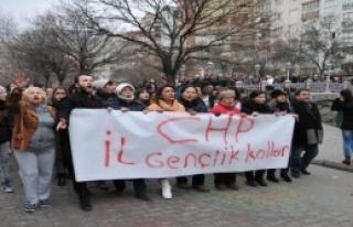 CHP'liler Özgecan İçin Yürüdü
