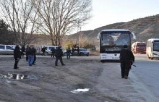 Eskişehir'de Kent Girişinde Polis Araması