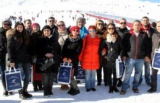 Tur Operatörleri Erciyes'i Beğendi