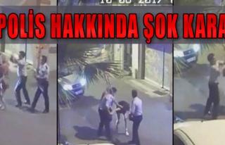 Kızları Döven Polise 48 Saatte Tahliye