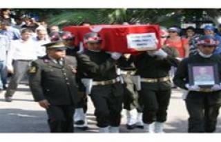 Hakkari'de Hayatını Kaybeden Asker Fethiye'de Defnedildi...