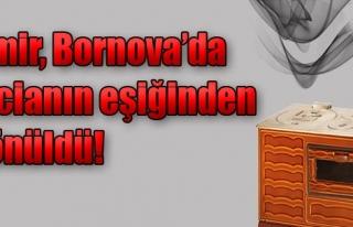 Bornova'da 8 Kişi Sobadan Zehirlendi!