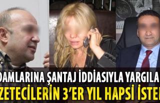 İzmir'de İşadamlarına Şantaja 3'er Yıl Hapis...