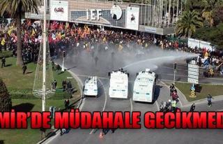 İzmir'de Müdahale Gecikmedi!