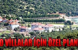 Urla Villaları İçin Özel Plan!