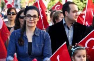 Antalya'da Cumhuriyet Coşkusu