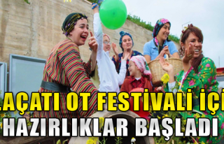 Alaçatı'yı festival heyecanı sardı