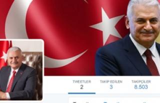 Başbakan İlk Tweetini Attı