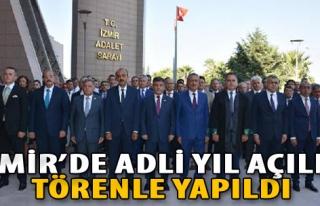 İzmir'de Adli Yıl Açılışı Törenle Yapıldı