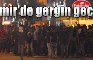 İzmir'de Ankara'daki Katliama Protesto