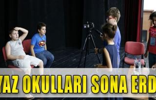 Konak'ta Yaz Okulları Sona Erdi