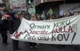 Sincap Maskeli Protesto