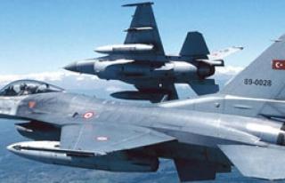 Jetler PKK'lı Grubu Vurdu