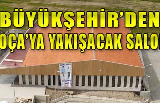 Gerenköy'e çok amaçlı salon