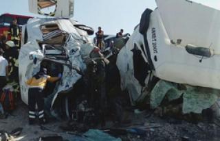 Konya'da Korkunç Kaza: 10 Ölü
