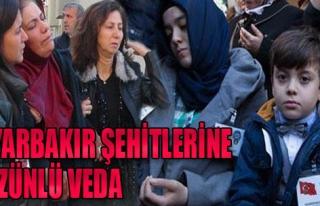 Diyarbakır Şehitleri Toprağa Verildi
