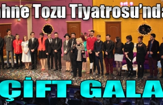 Sahne Tozu Tiyatrosu'ndan Çift Gala!