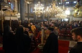 Ortodoks Patrikhanesi'nde Noel Ayini