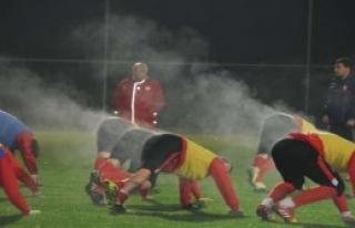 Futbolcular Buharlaştı
