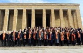Galatasaray Heyeti, Anıtkabir'de