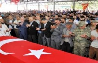 Gaziantepli Şehit Gözyaşlarıyla Uğurlandı