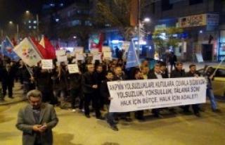 Gaziantep'te '17 Aralık' Protestosu