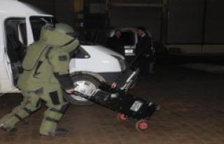 Beton Duba Bomba Paniği Yaşattı