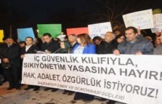 İç Güvenlik Paketi Protestosu