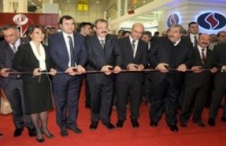 Gaziantep'te Pentex Fuarı Açıldı