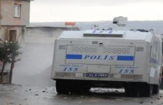 Gaziantep'te Yasa Dışı Gösteriye Müdahale
