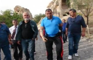 Gaziler, Kapadokya'yı Gezdi