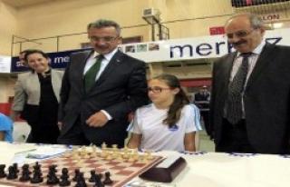 Gebze'de Uluslararası Satranç Turnuvası