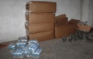 Gemlik'te Kaçak İçki İmalathanesine Baskın: 2...