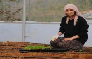 Kadın Çiftçiler Üretime Başladı