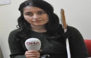 Görme Engelli Genç Kız Çalışmak İstiyor