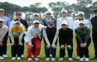 Golfçüler Serik'te Kampa Girdi