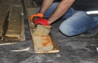 Gümrük Kapısı'ndaki Operasyonda 124 Kilo Uyuşturucu