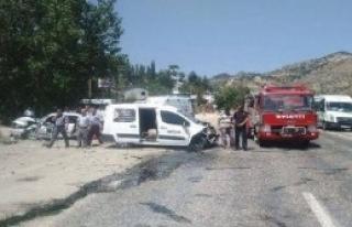 Kahramanmaraş'ta Kaza: 1 Ölü, 3 Yaralı